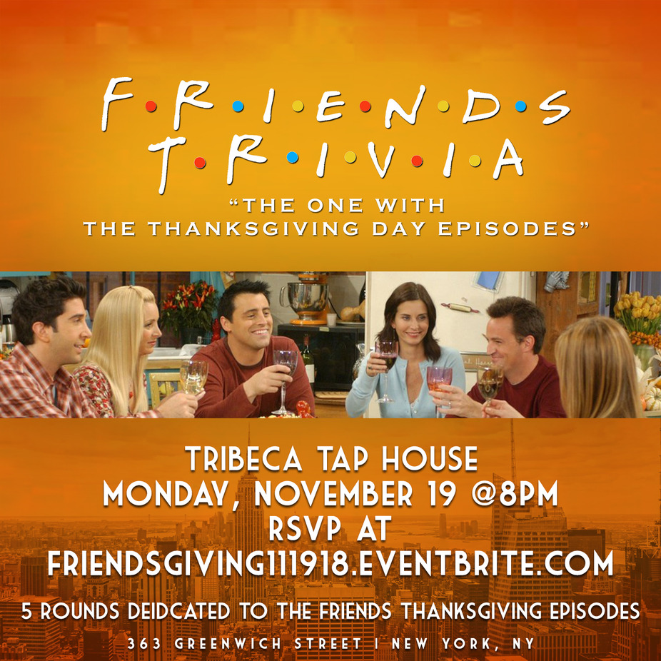 Thanksgiving Friend's Trivia event photo