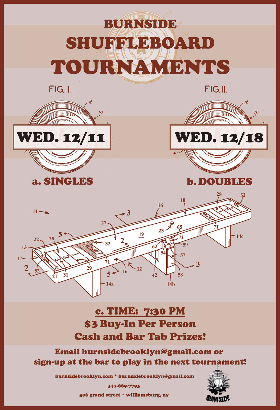 December Shuffleboard Tournaments! event photo