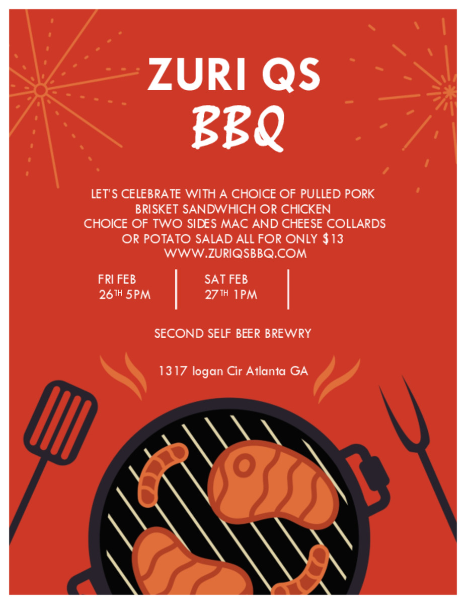 Zuri Q's BBQ Pop Up event photo