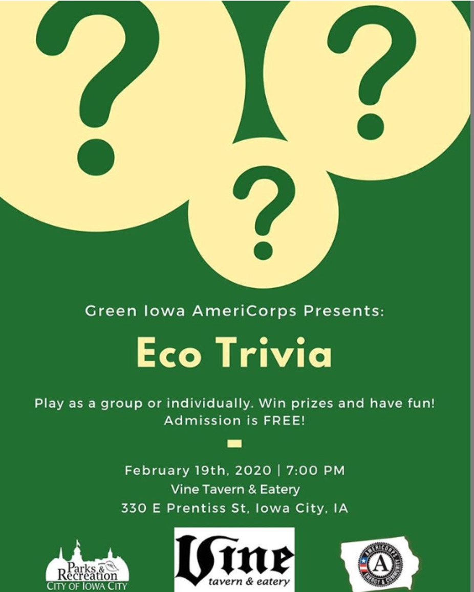 Eco Trivia event photo