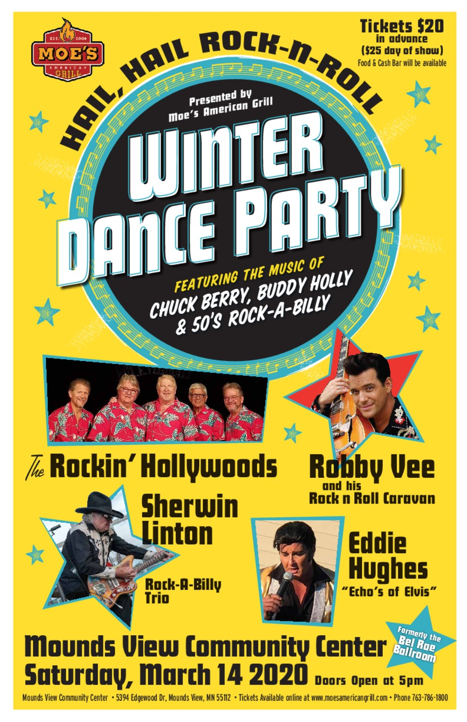 Winter Dance Party event photo