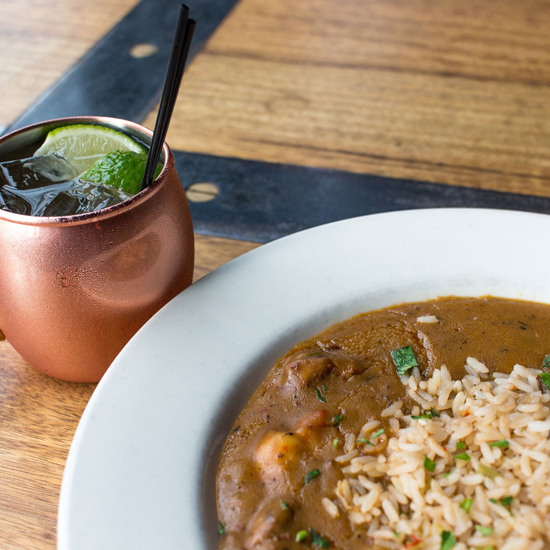 Kentucky Mule and Gumbo