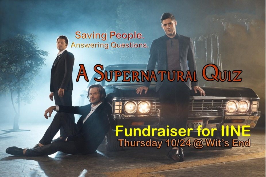 Supernatural Trivia event photo