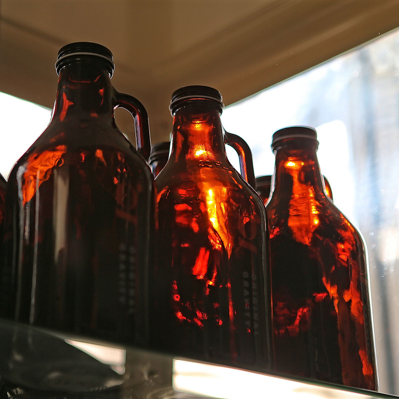 OG beer growlers