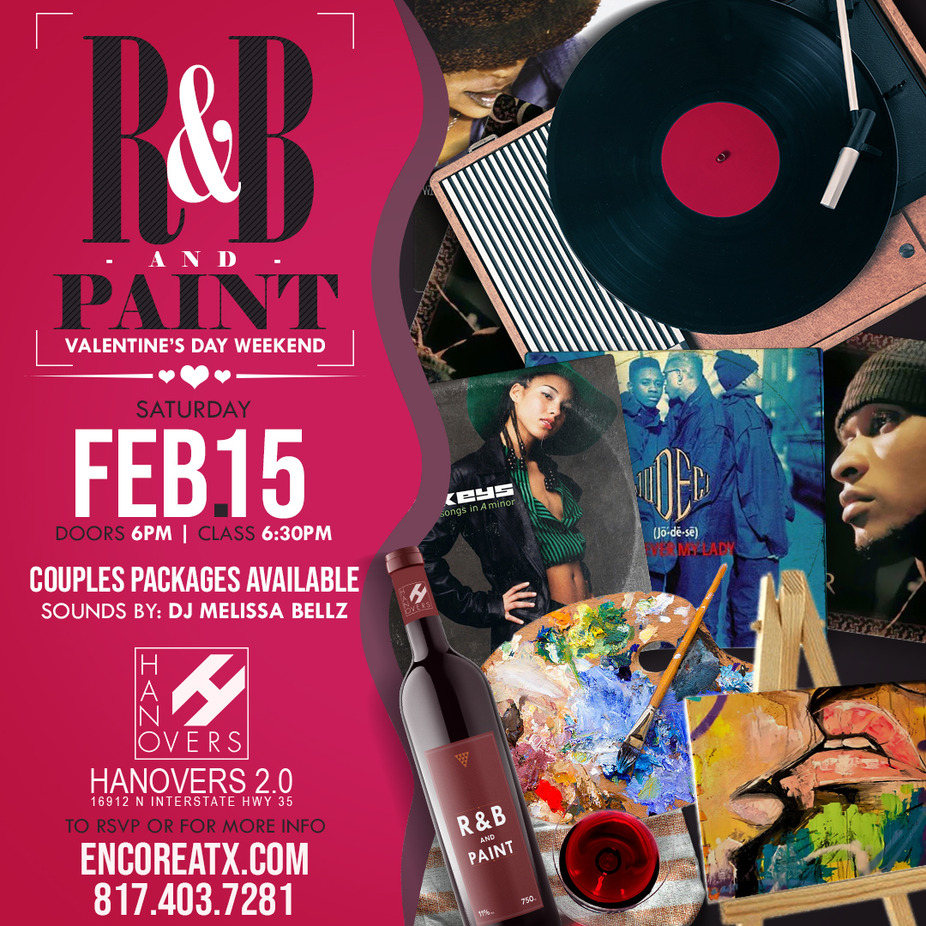 R&B N Paint ATX event photo