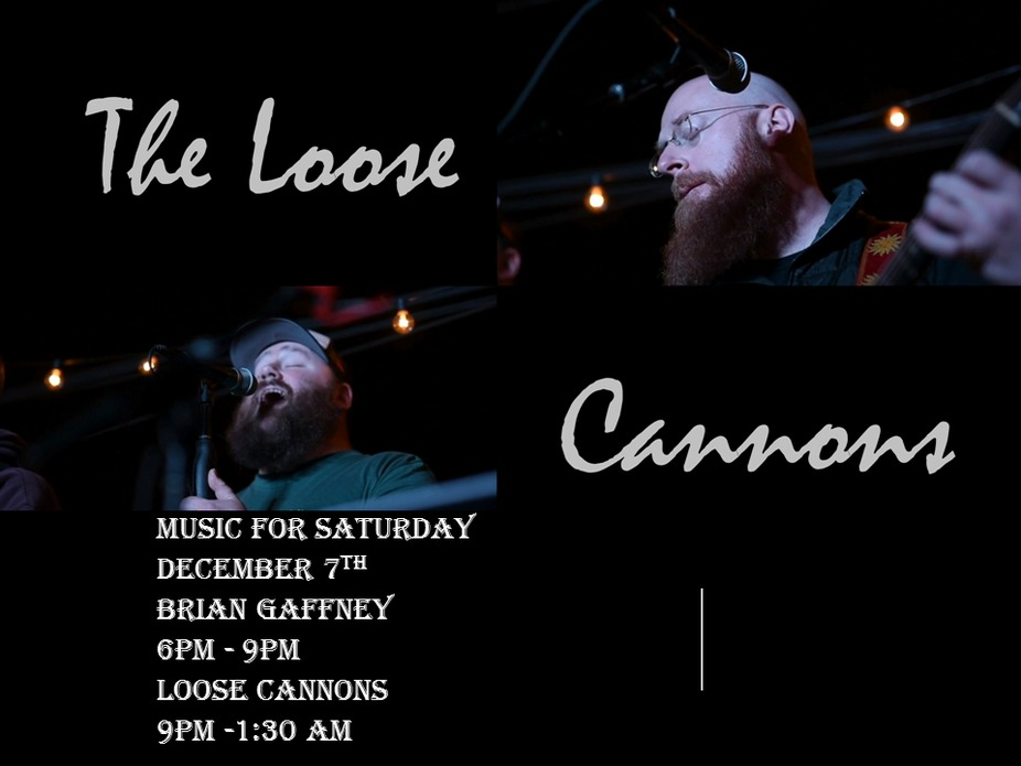 Music for December 7th - Loose Cannons event photo