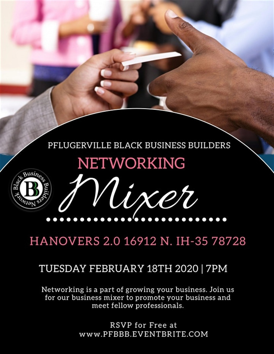 Pflugerville Black Business Builders Networking Mixer | 7PM-9PM event photo