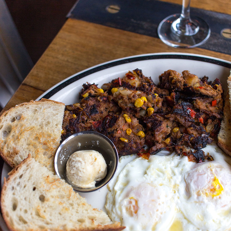 Weekend Brunch Brisket Hash