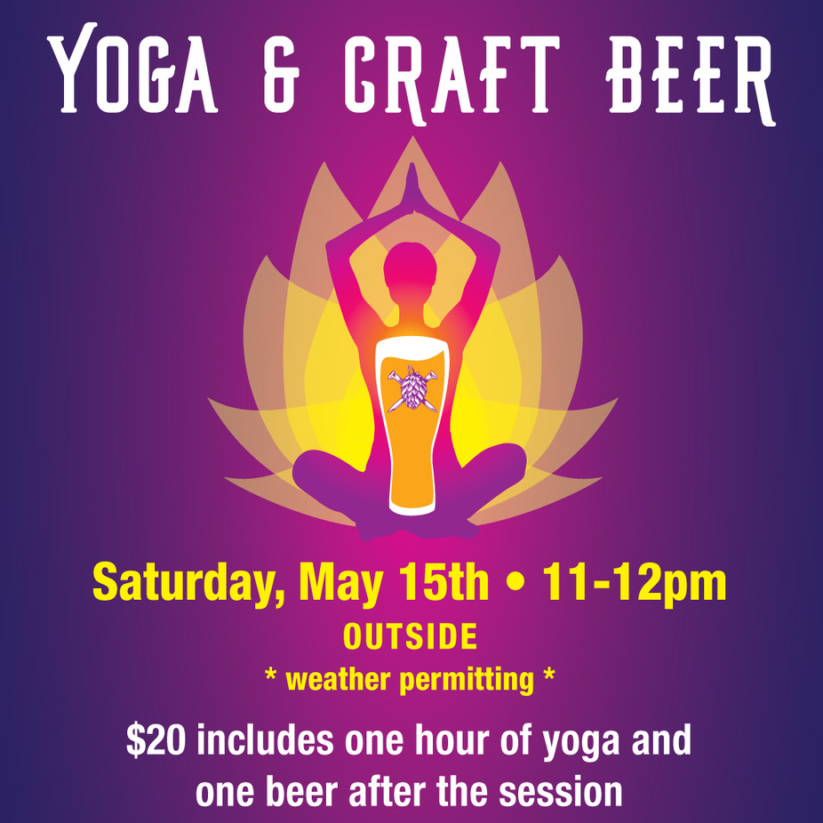 Yoga and Craft Beer event photo
