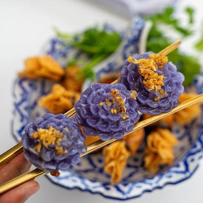 Thai Flower Dumpling photo