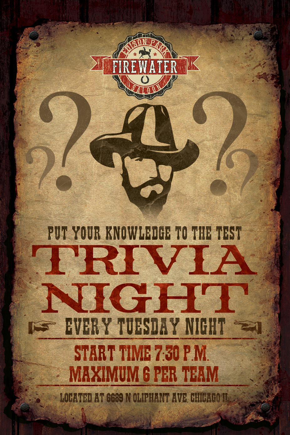 Tuesday Trivia event photo