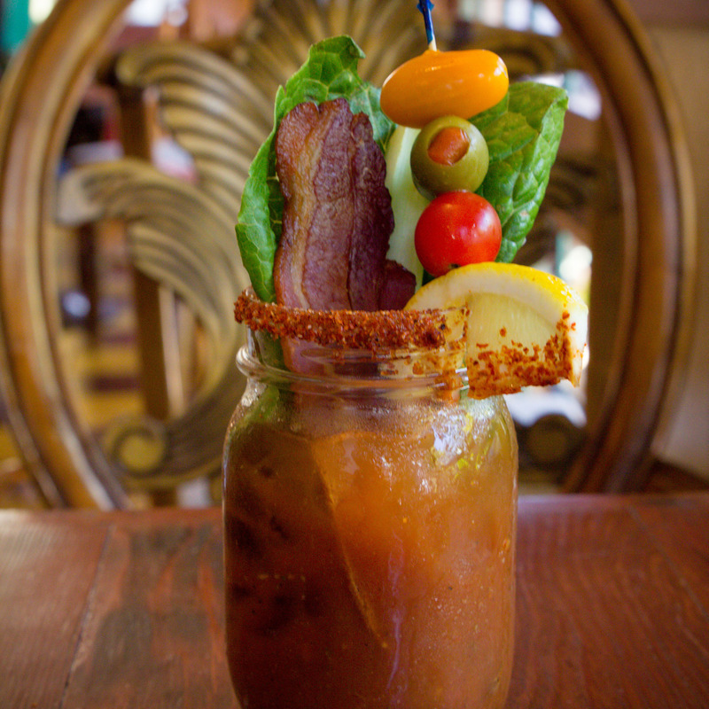 BLT bloody mary