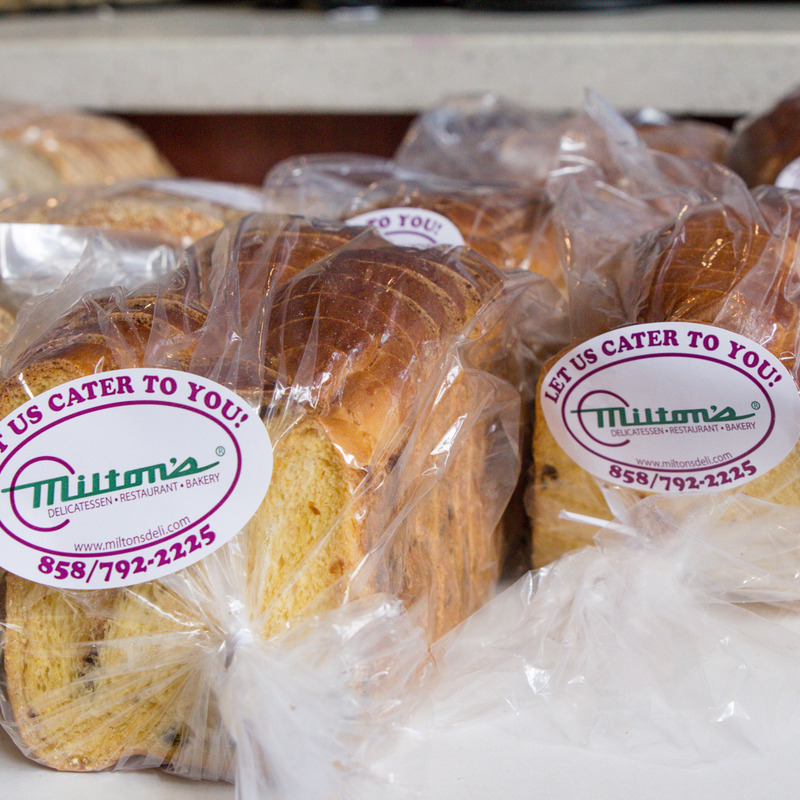 Here at Milton's, we're all about the bread. You've seen us at your local supermarket.
