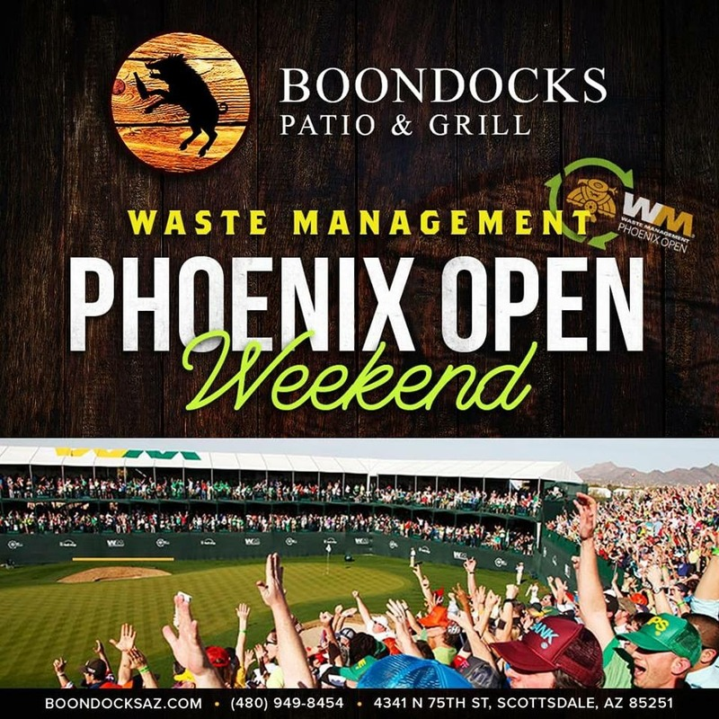 Waste Management Phoenix Open Weekend