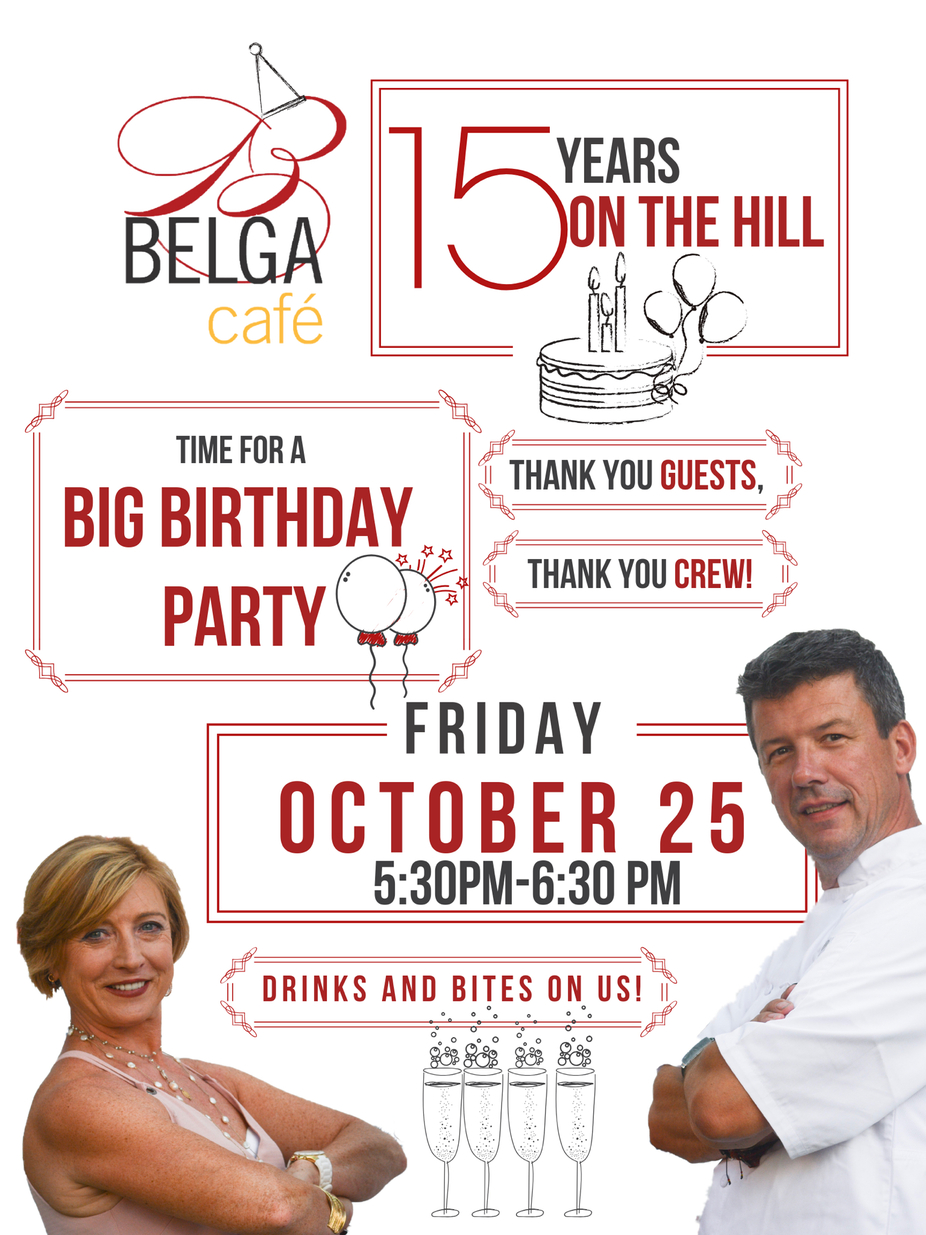 Belga's 15th Birthday Party event photo