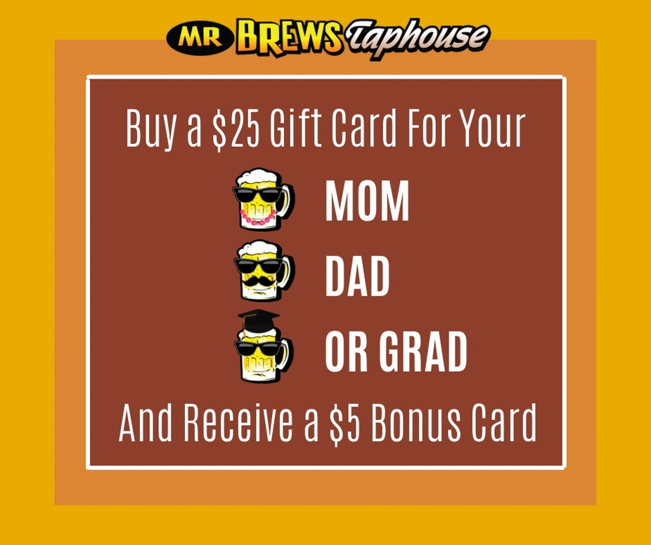 Moms, Dads and Grads Bonus Cards until event photo