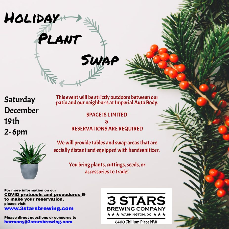 Holiday Plant Swap event photo