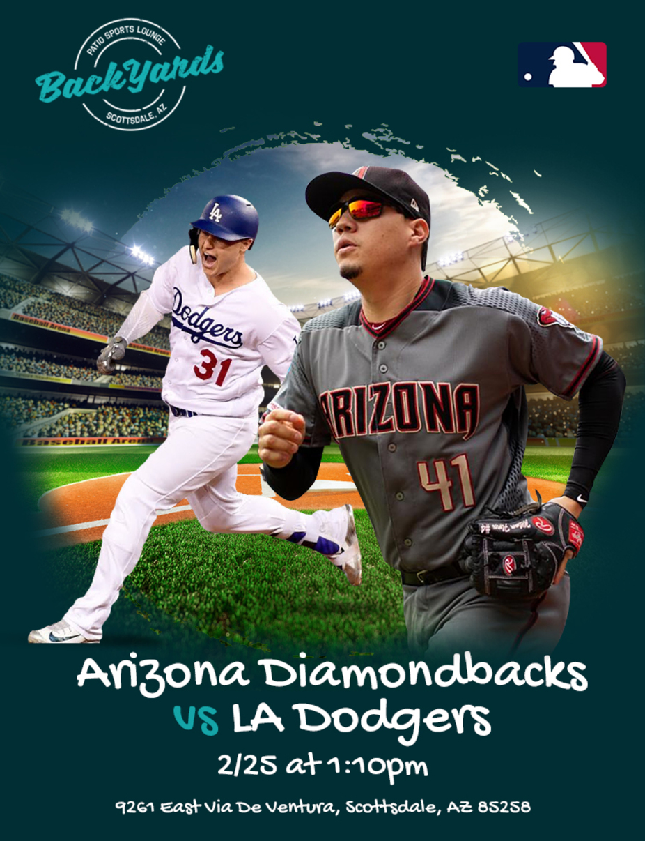 Dbacks vs Dodgers Tuesday February 25th event photo