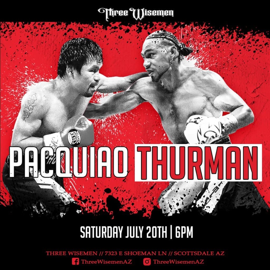 Pacquiao vs Thurman event photo
