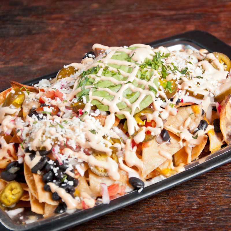 The Nachos Done Right are definitely done right