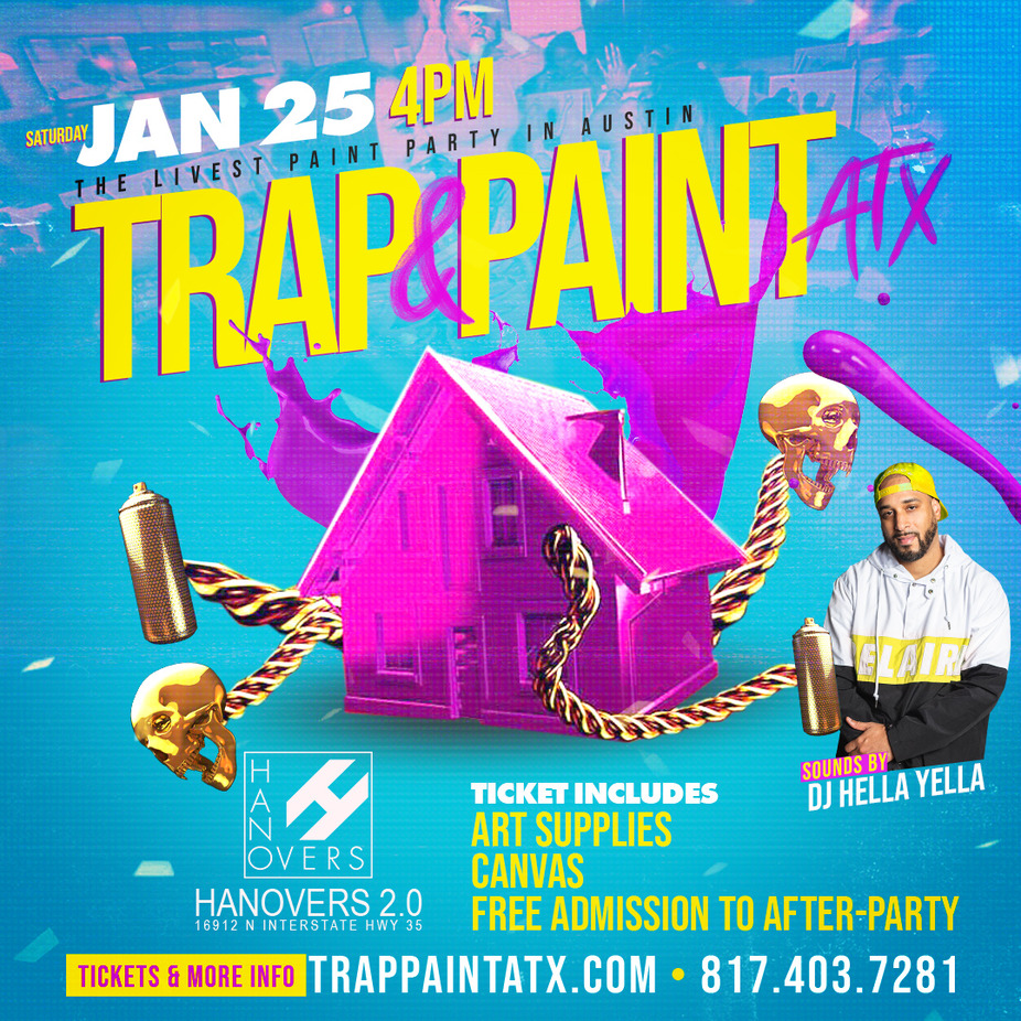 Trap N Paint Austin event photo