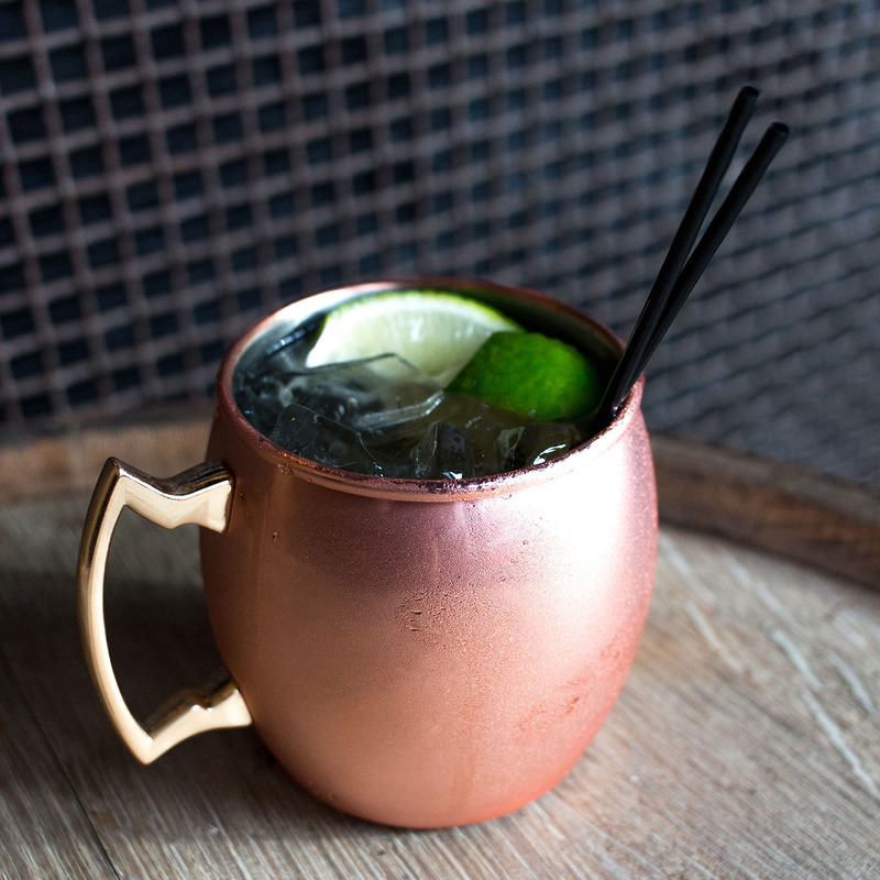 Kentucky Mule in Copper Mug