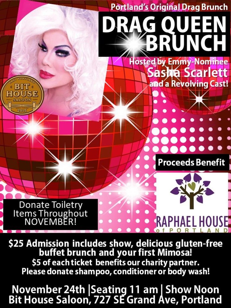 Drag Queen Brunch event photo