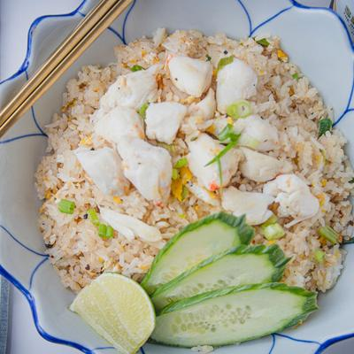 Lump Crab Meat Fried Rice photo