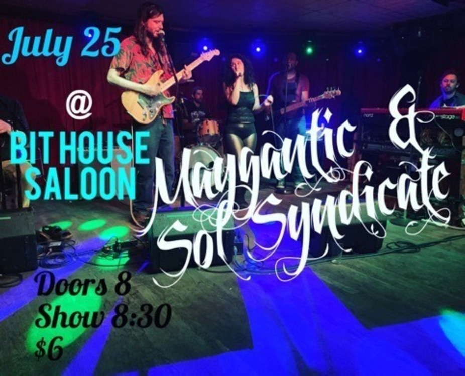Maygantic and Sol Syndicate at the Bit House Saloon event photo