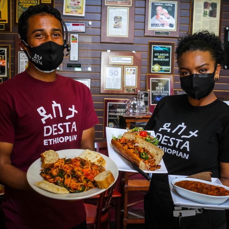 Desta Ethiopian Kitchen Druid Hills Atlanta Ga