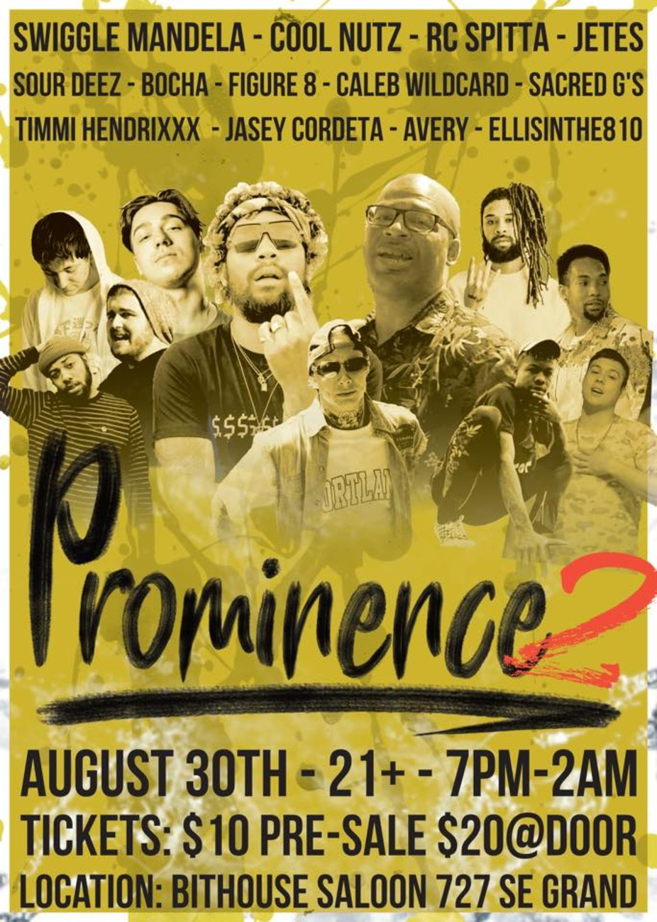 Prominence Ch. 2 w/ Swiggle Mandela & Cool Nutz event photo