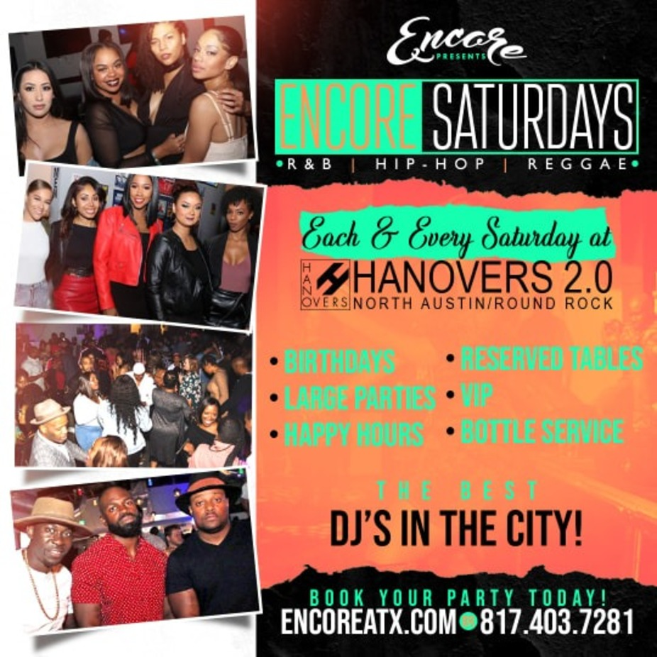 Encore Saturdays | 10pm - 230am event photo