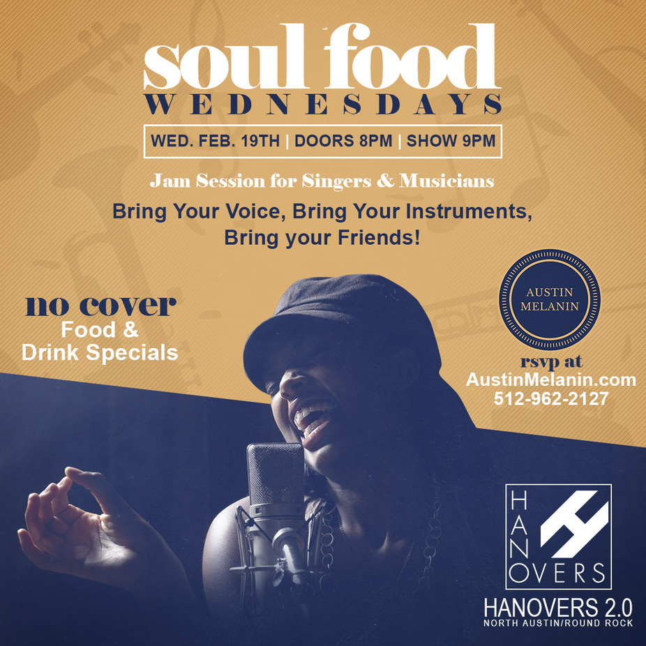 Soul Food Wednesdays 9PM-12AM event photo