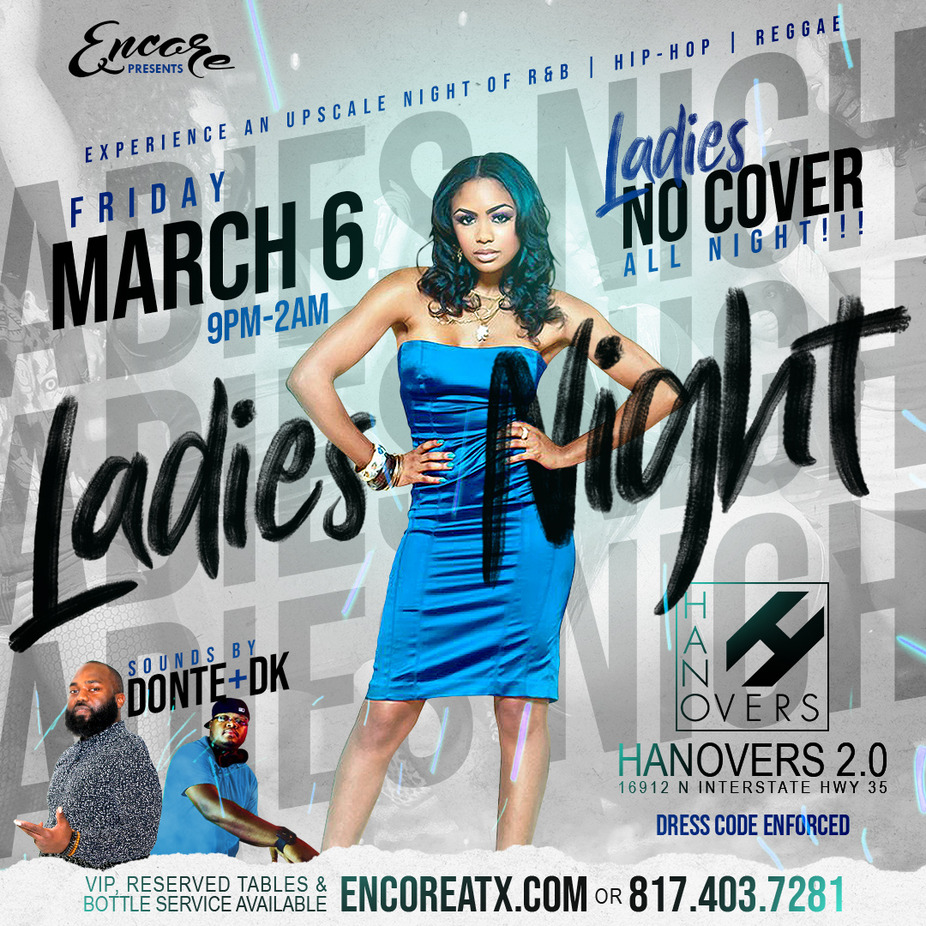 Friday Ladies Night  | 9PM-2PM event photo