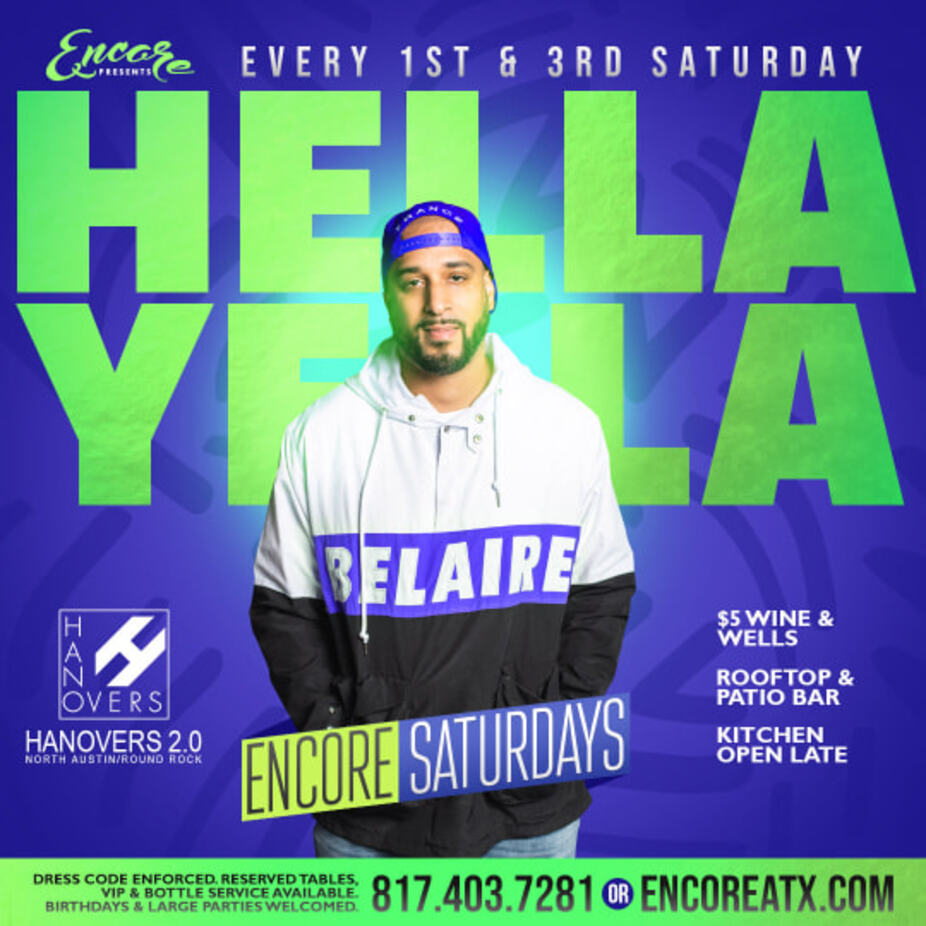 Encore Saturdays | 9pm - 230am event photo