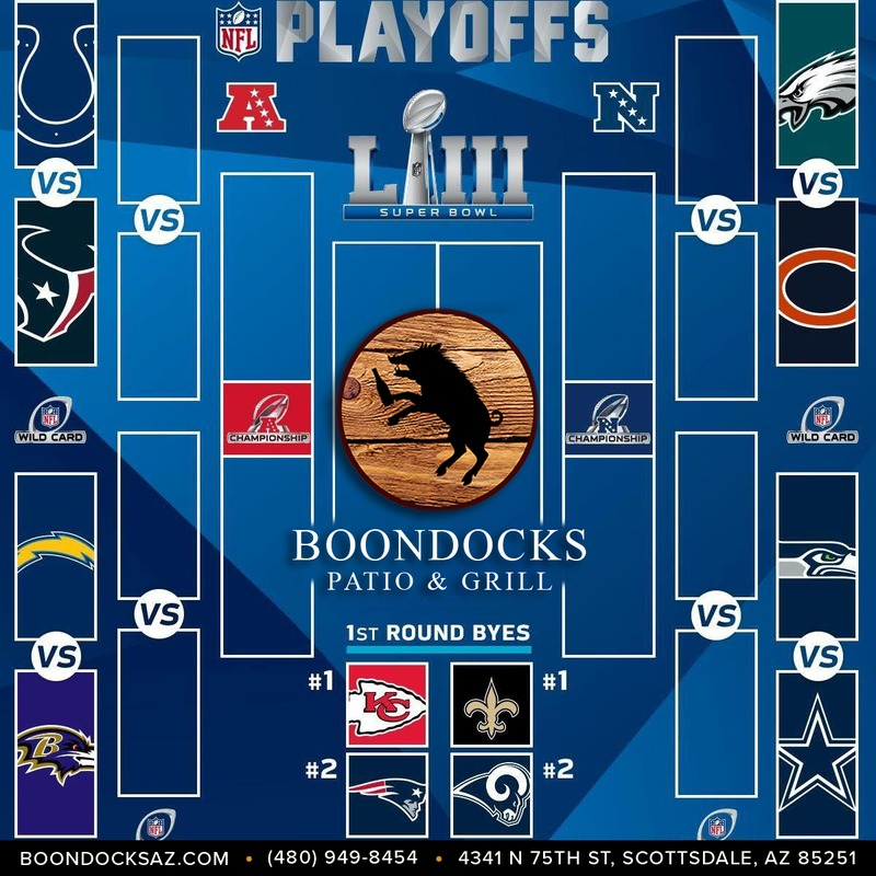 Boondocks NFL Playoffs Viewing Parties