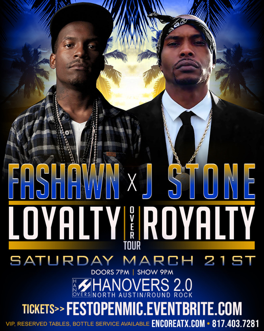 Fashawn x J Stone | 7pm - 9pm event photo