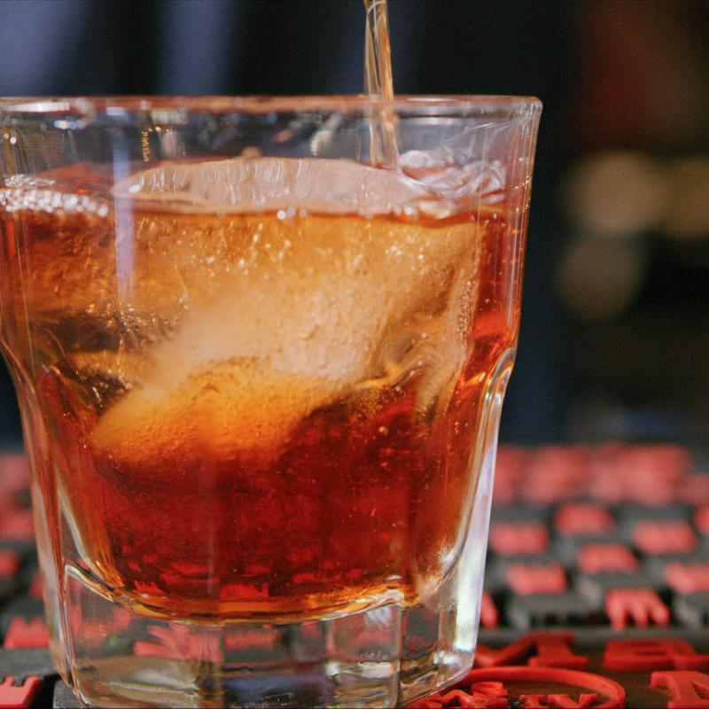 Cocktail closeup