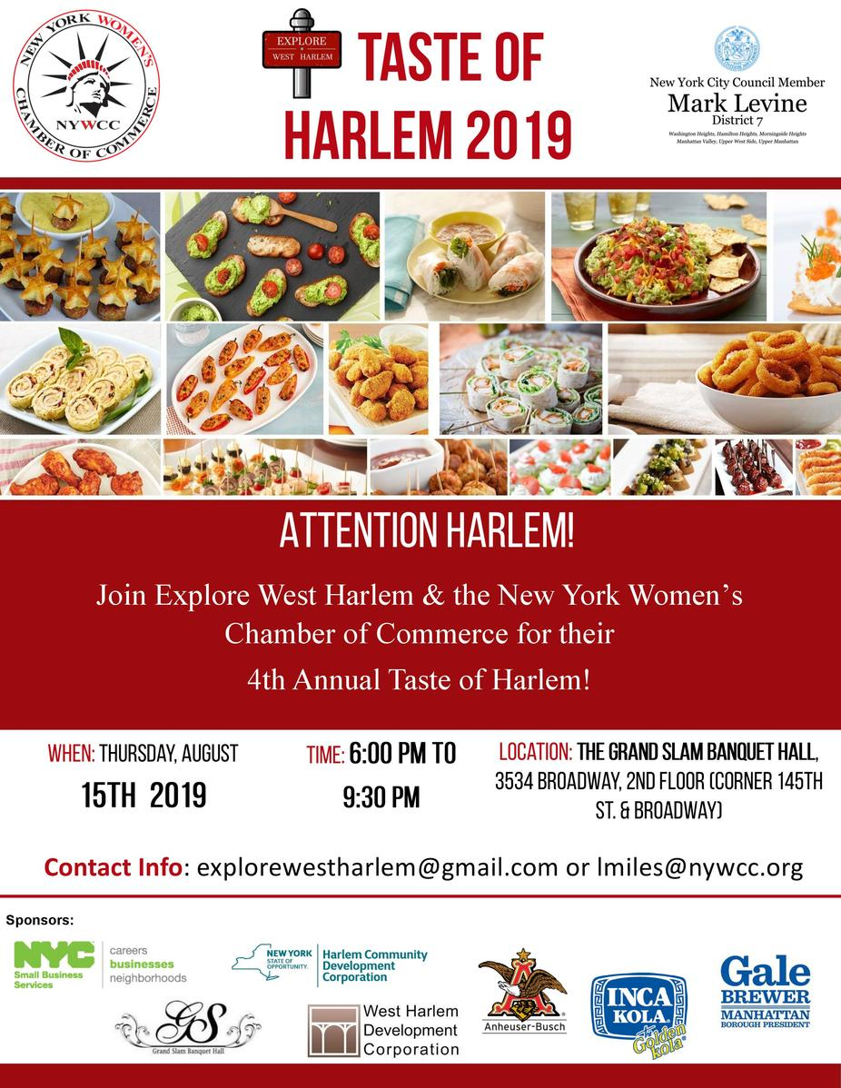 Taste of Harlem 2019 event photo