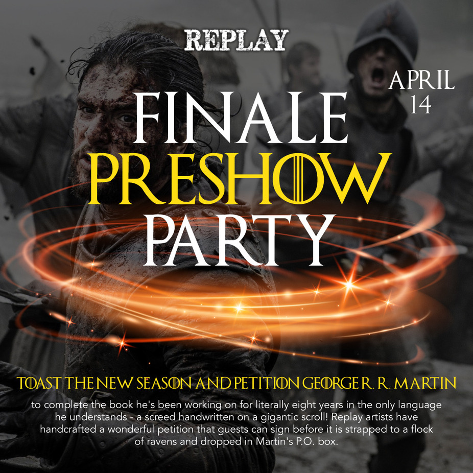 Finale Preshow Party event photo