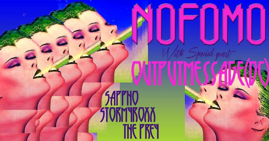 NoFOMO ft. Outputmessage (DC) + Residents event photo