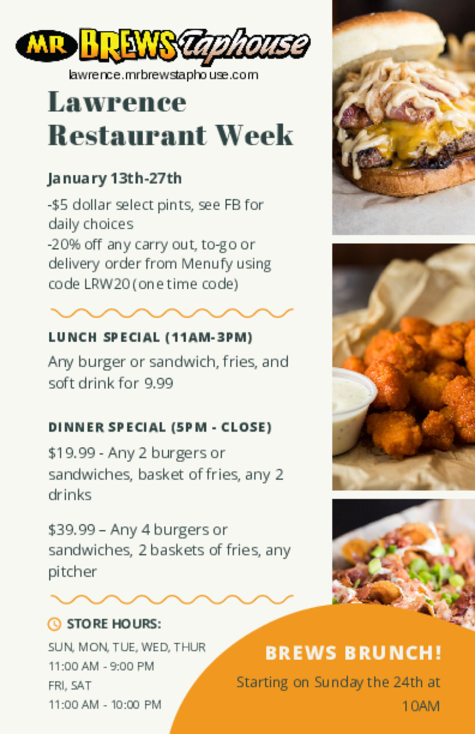 Lawrence Restaurant Week event photo