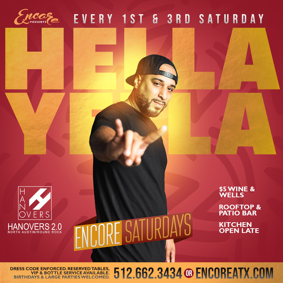 Encore Saturdays | 8.15  9pm - 230am event photo