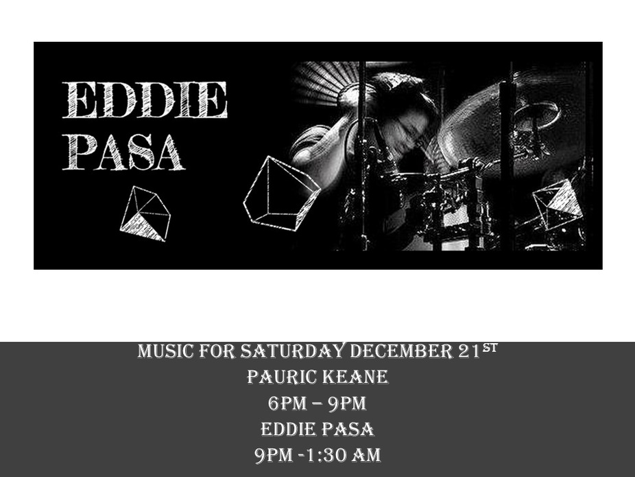Music for December 21st - Eddie Pasa event photo