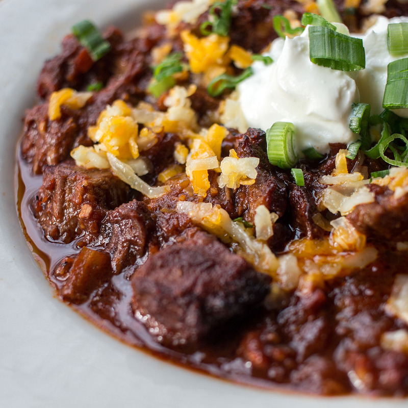 $5 Happy Hour Brisket Chili