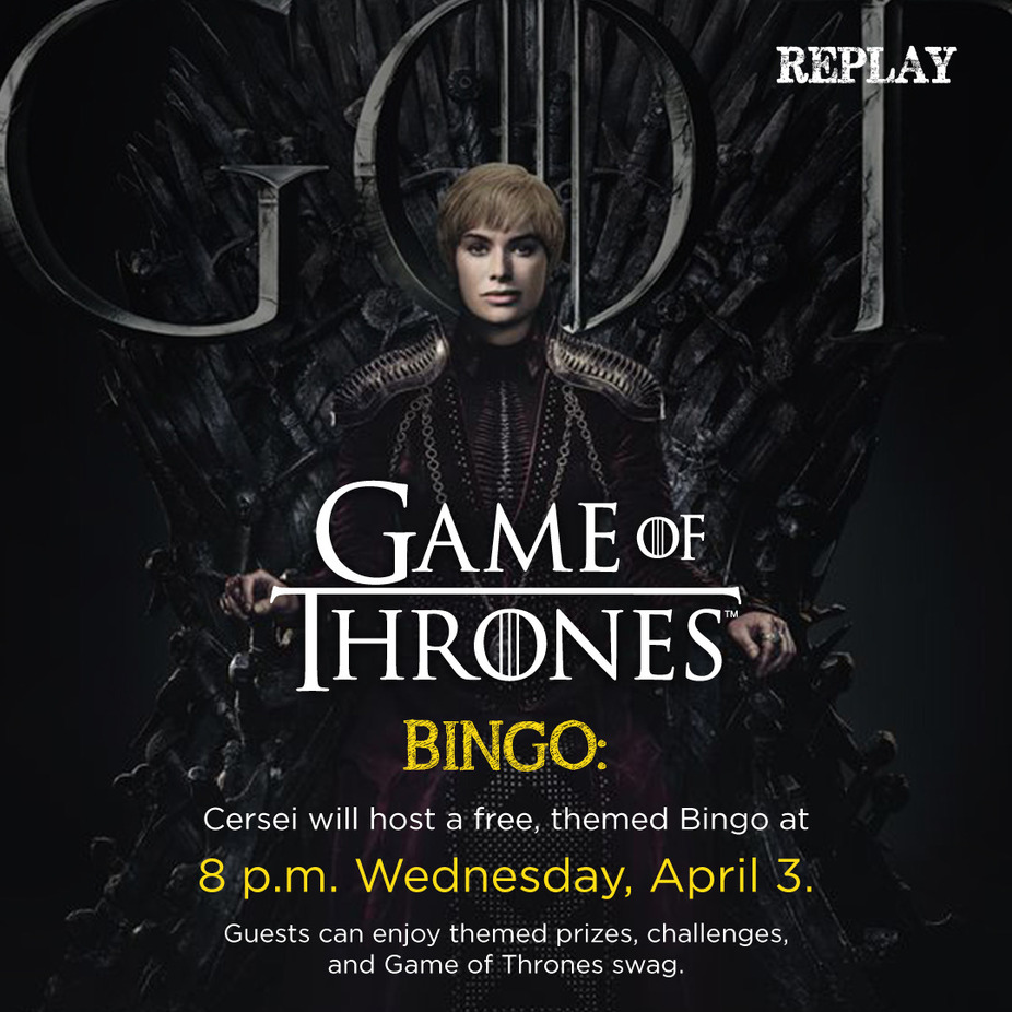 Game of Thrones - BINGO event photo