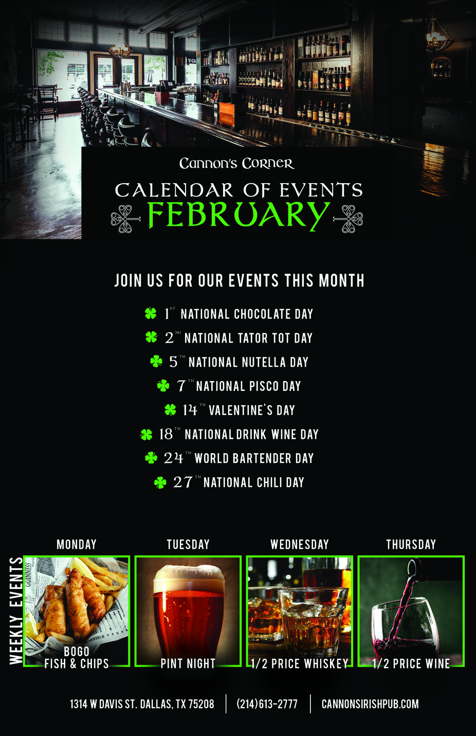 February Events! event photo