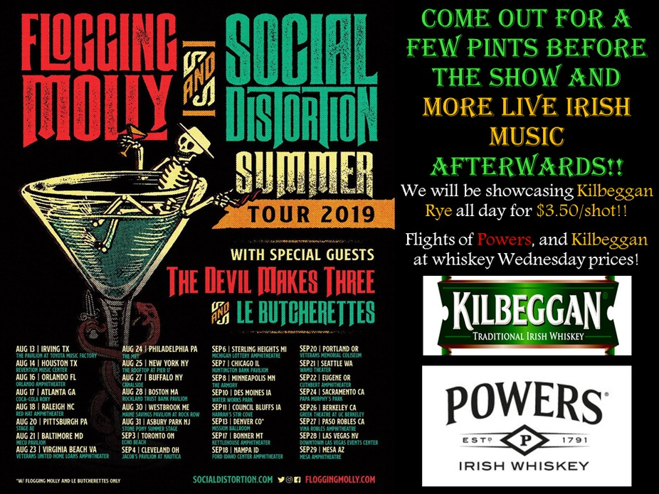 Flogging Molly and Social Distortion event photo