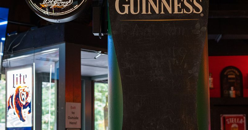 Guinness beer sign
