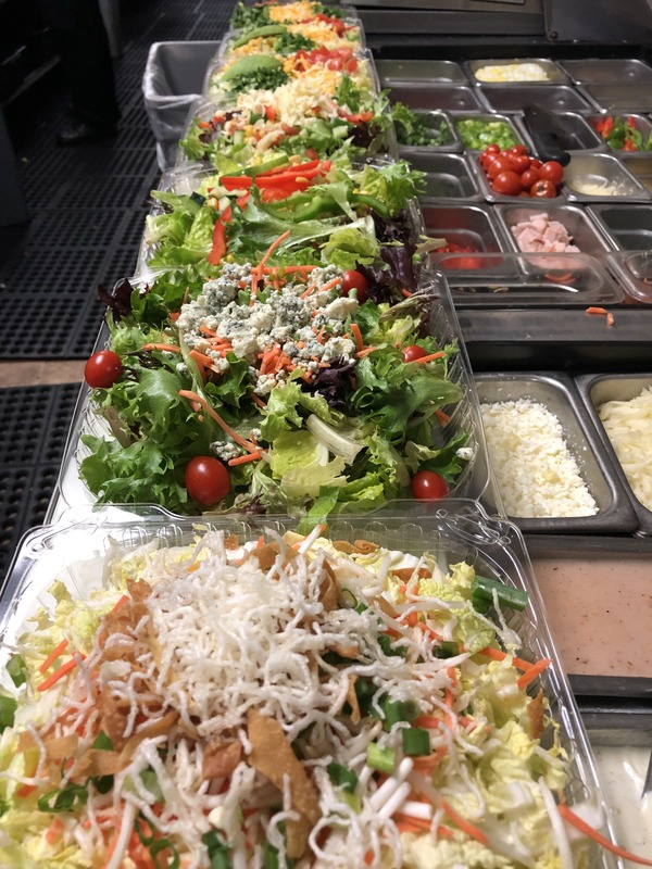 Salads and salads and salads To Go